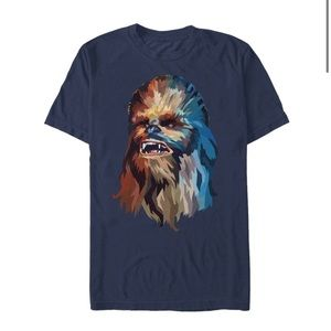 Fifth Sun Navy Blue multicolor Chewbacca T Shirt